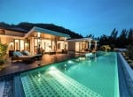 Hua Hin The Spirit villa for sale night shot