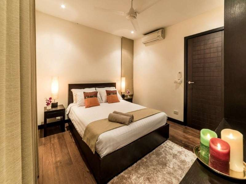 Hua Hin The Spirit villa for sale master bed