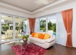 Hua Hin Orchid Paradise Homes show villa for sale lounge