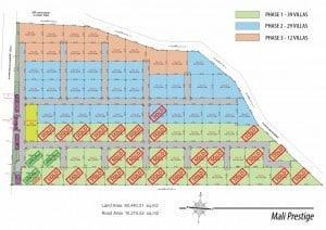 Mali Prestige by Orchid Palm Homes - Masterplan