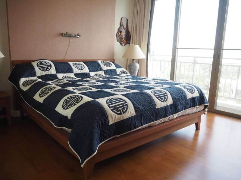 Two bed Boathouse condo for sale master