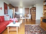 Two bed Boathouse condo for sale lounge