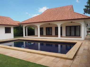 House Hua Hin West for sale rear house