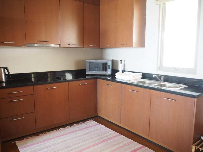 Two bed Boathouse condo for sale kitchen