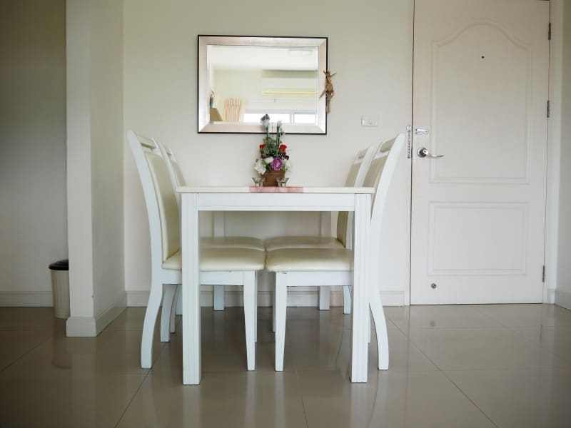 Flametree Hua Hin center apartment for sale tv dining table