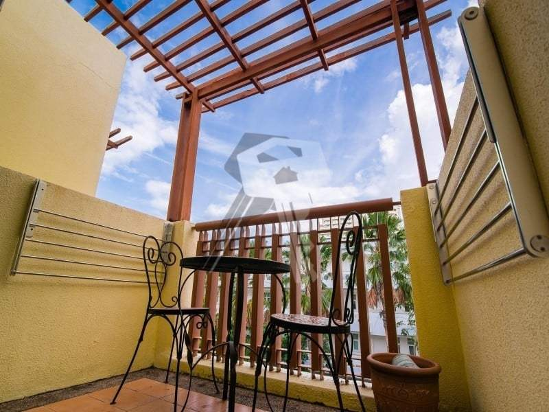 3 bed Mykonos apartment for sale Hua Hin balcony