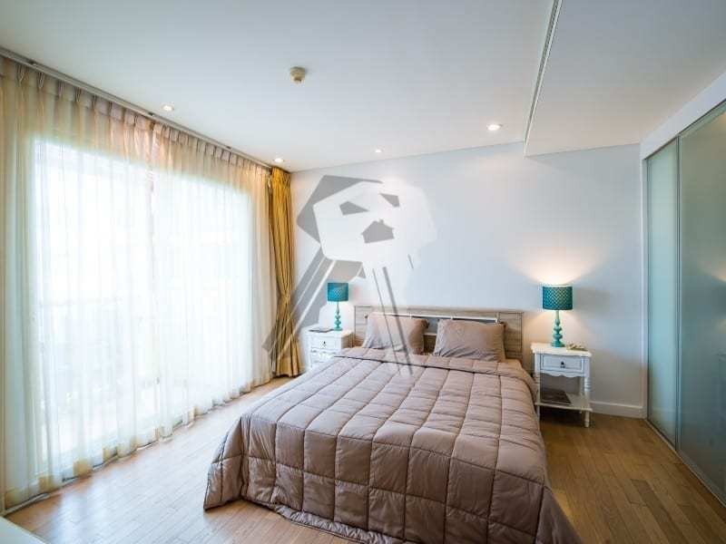 3 bed Mykonos apartment for sale Hua Hin master bed