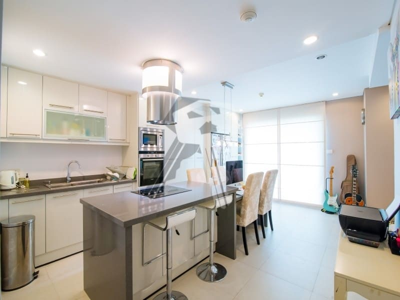 3 bed Mykonos apartment for sale Hua Hin kitchen