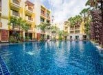 3 bed Mykonos apartment for sale Hua Hin Pool view