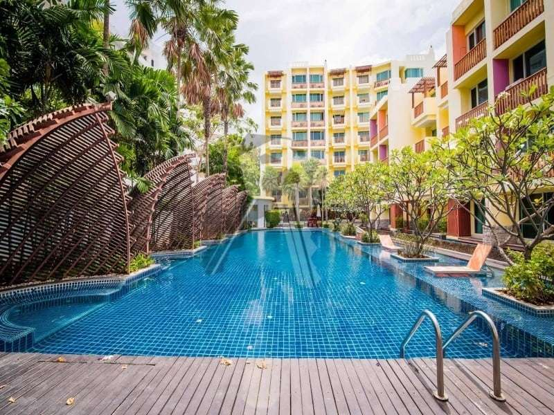 3 bed Mykonos apartment for sale Hua Hin pool garden