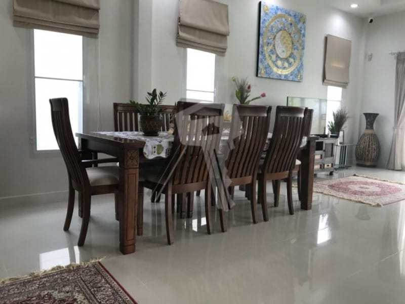 Freehold resale villa Hua Hin dining