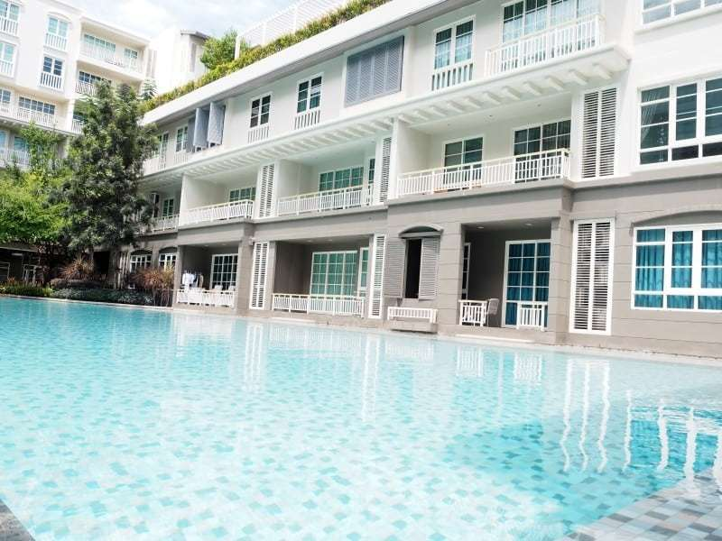 Autumn Hua Hin 2 bed condo for sale pool view