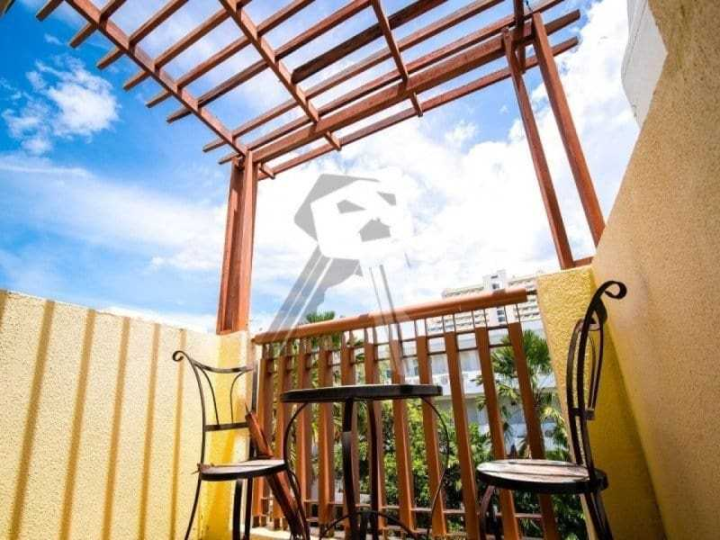 Mykonos condo for sale Hua Hin balcony
