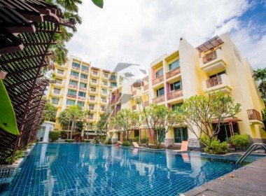 Mykonos condo for sale Hua Hin pool