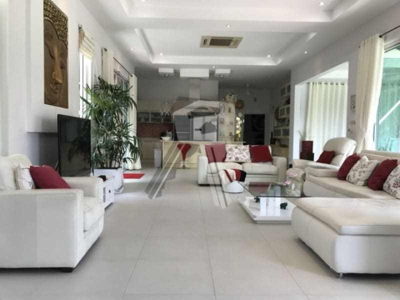 Finished Red Mountain villa for sale open plan