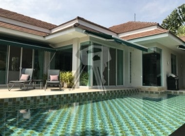 Finished Red Mountain villa for sale pool