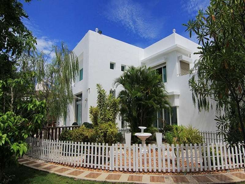 Hua Hin double storey house for sale front