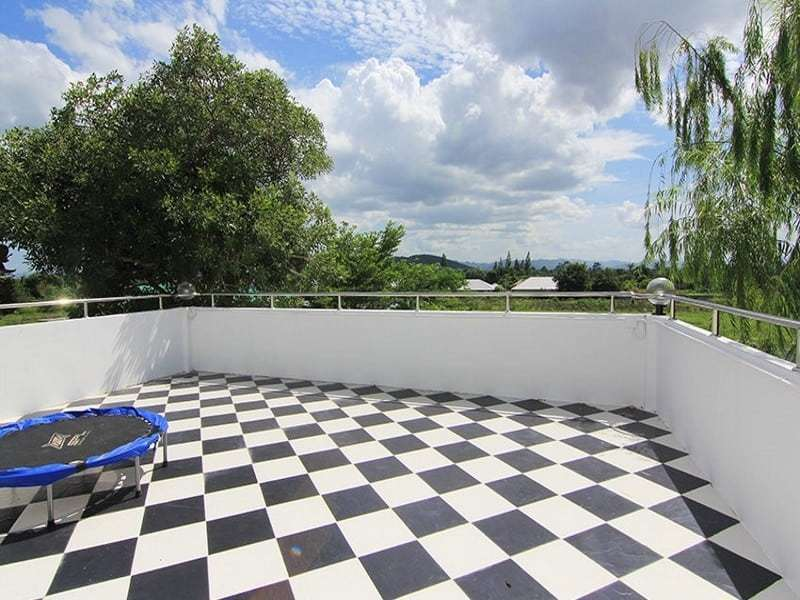Hua Hin double storey house for sale roof terrace
