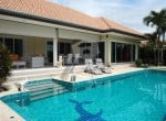 Huge Orchid Palm Homes villa for sale Rear Pool