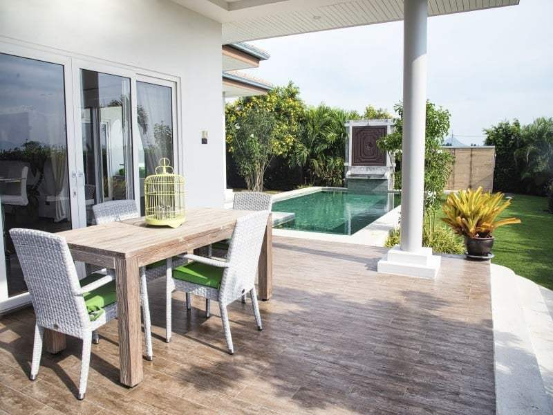 Orchid Palm homes Hua Hin from 7.25MB terrace