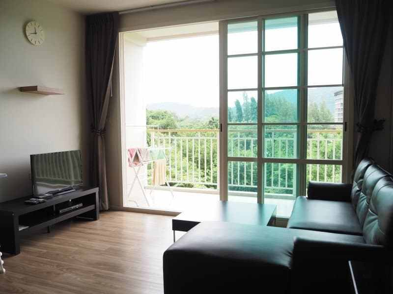 Autumn apartment Hua Hin for sale balcony
