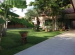 Pranburi home for sale lawn garden