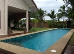Pranburi home for sale pool view