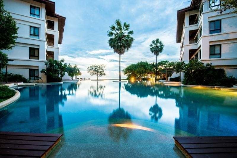 Santipura 4 bed condo for sale Hua Hin pool view