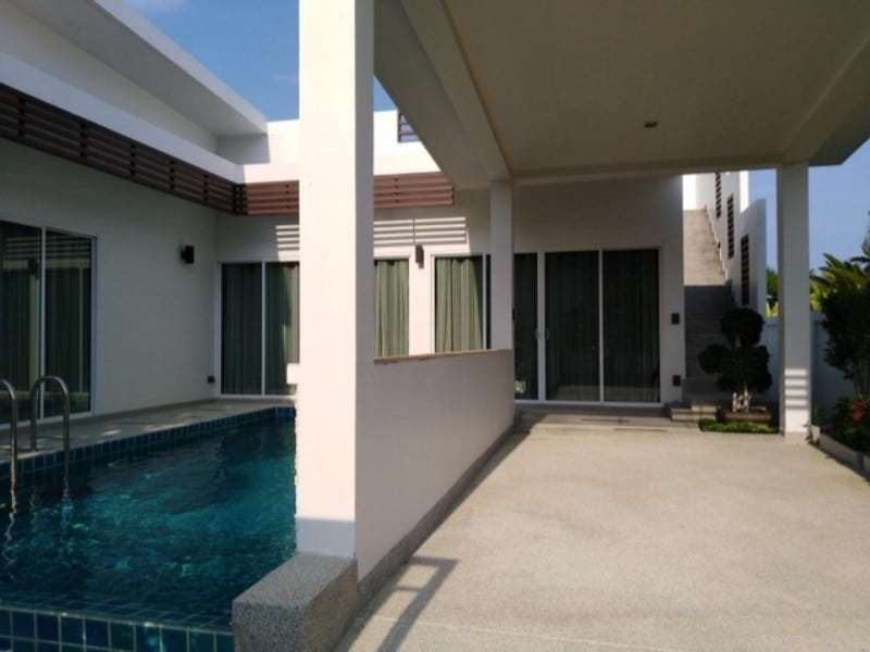 Sivana Garden resale villa with 2 bedroom - carport