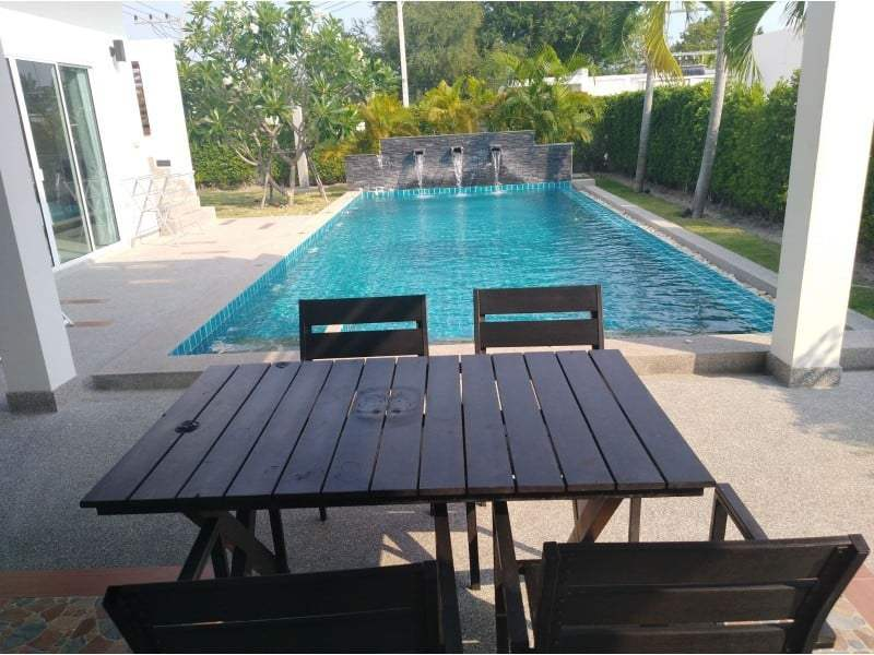 House for sale Sivana Garden Hua Hin - terrace