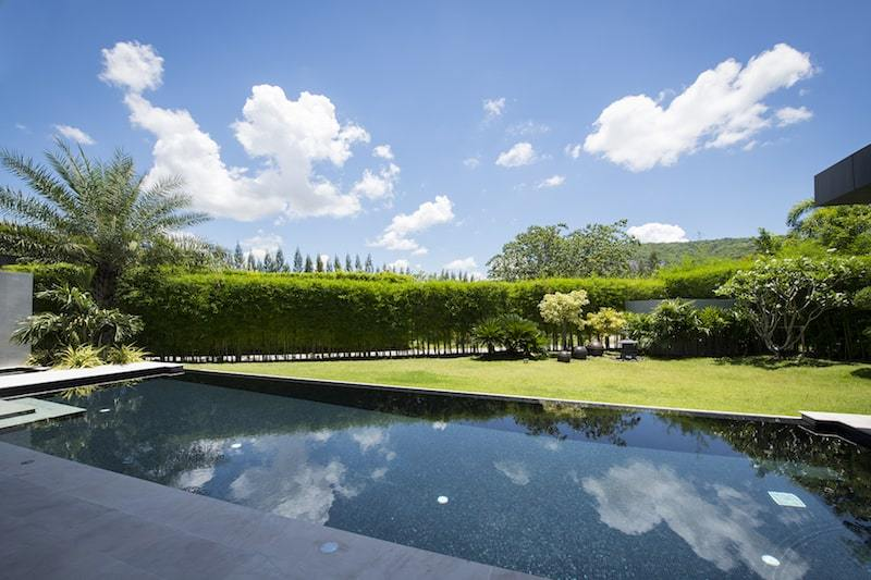 Baan Ing Phu luxury villa for sale - pool