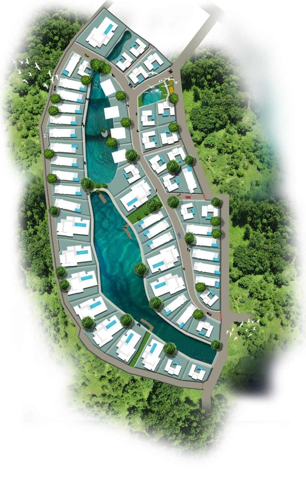 Sanctuary Lakes Hua Hin - Masterplan