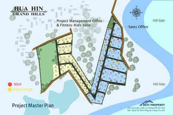 Hua Hin Grand Hills - masterplan