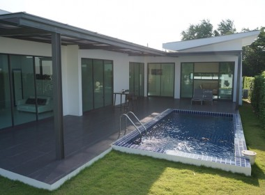 Three bed villa by Phu Montra - covered terrace