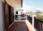 Baan Silvia House in the city center for sale - balcony