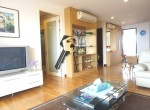 Boathouse Hua Hin Apartment for sale  - living area