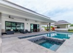 Resale villa in The Clouds - pool