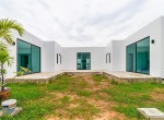Modern Villa with rooftop terrace for sale - entrance