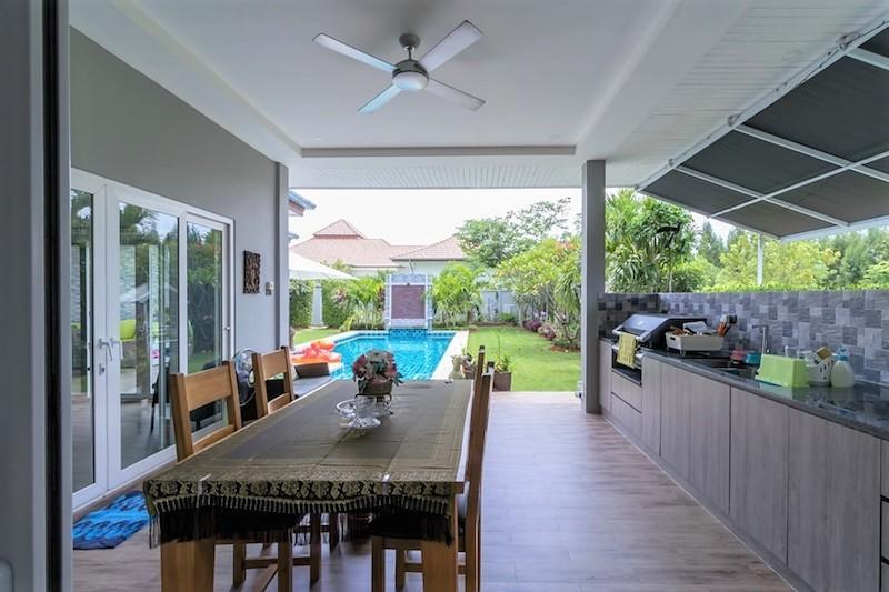 Mali Residence resale with separate guest house - terrace