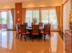 Palm Hills golf course villa for sale - dining