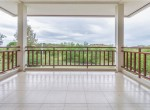 Searidge Hua Hin villa for sale - balcony