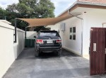 Luxury Mali Prestige pool villa for rent - carport