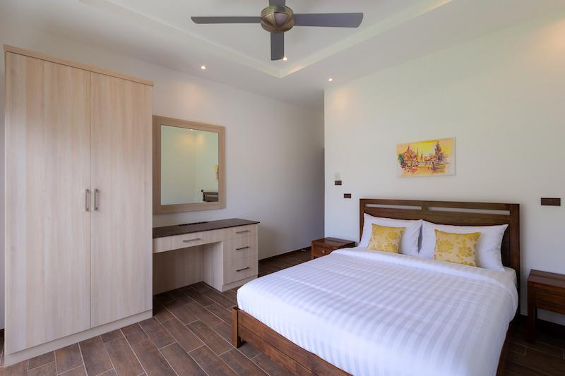 Luxury 3 bed pool villa for rent in Hua Hin - bedroom