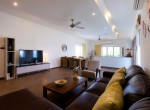 Luxury 3 bed pool villa for rent in Hua Hin - living area