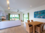 Luxury villa with pool for rent - dining