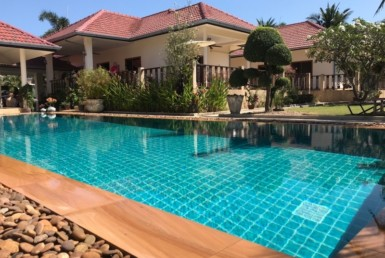 Sunset Village 2 villa for sale on huge plot