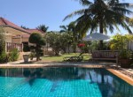 Sunset Village 2 villa for sale on huge plot - garden