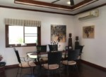 Sunset Village 2 villa for sale on huge plot - dining area
