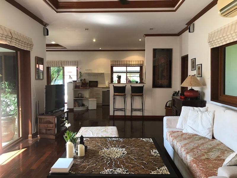Sunset Village 2 villa for sale on huge plot - living area