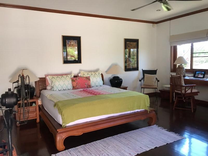 Sunset Village 2 villa for sale on huge plot - master bed